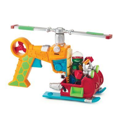 Boneco-Tartarugas-Ninjas-Half-Shell-Hero---Figura-com-veiculo---Rafael---Multikids-1