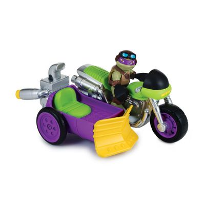 Boneco-Tartarugas-Ninjas-Half-Shell-Hero---Figura-com-veiculo---Donatello---Multikids-1