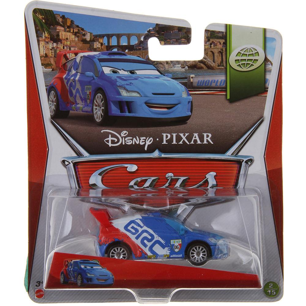 Carrinho Cars - Veículo Básico Diecast - Raoul Caroule - Mattel