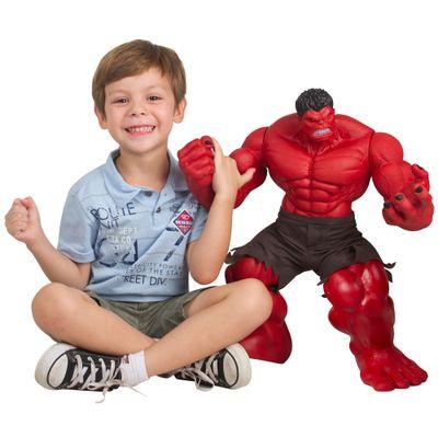 Boneco Hulk Vermelho Premium Gigante - Mimo - Disney