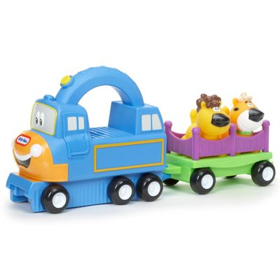 Veículo Handle Haulers - Trenzinho Big Top Charlie - Little Tikes