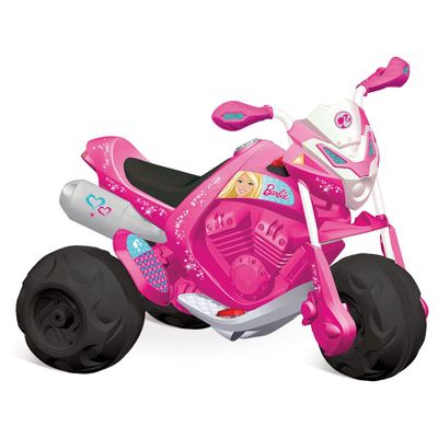 Moto Elétrica - Trail - Barbie - EL 6V - Bandeirante