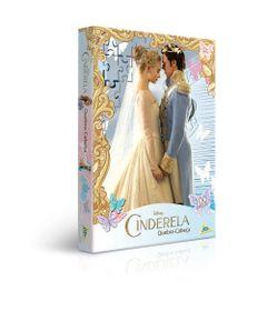 Quebra-Cabeca---100-Pecas---Cinderela---Princesas-Disney---Toyster