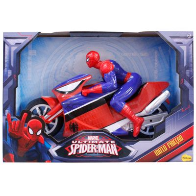 Motocicleta-Spider-Man---Yellow