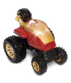 Crazy Car 360 de Controle Remoto - Avengers - Iron Man - Yellow