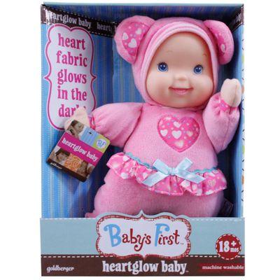 Boneca Baby's First - Coraçãozinho Brilhante - New Toys