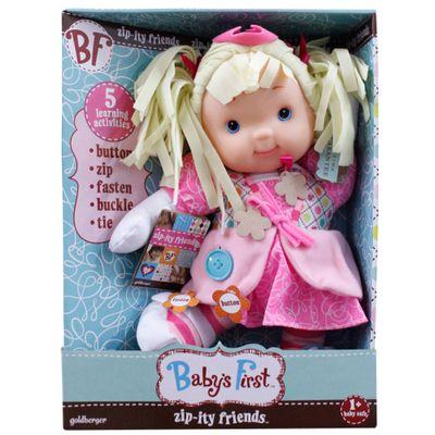 Boneca Baby's First - Princesa Hora de Aprender - New Toys