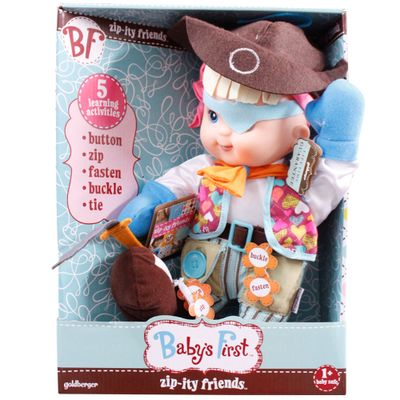 Boneco Baby's First - Pirata Hora de Aprender - New Toys