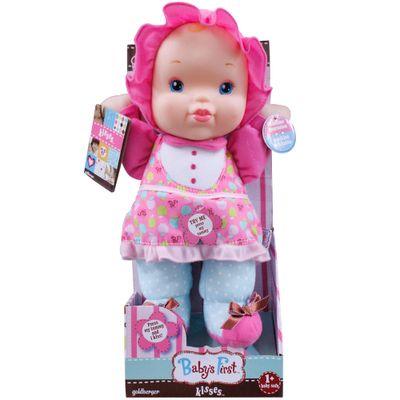 Boneca-Baby-s-First---Doce-Beijinho---Pink---New-Toys