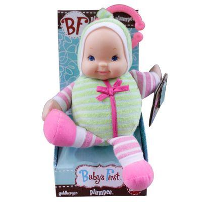 Boneca Baby's First - Mobile e Chocalho - Verde - New Toys