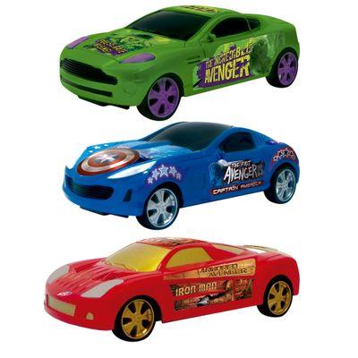 Conjunto-com-3-Carros-de-Friccao---Avengers---Yellow