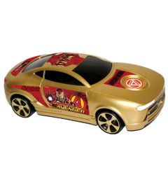 Carro-de-Friccao-Avengers-Metalizado---Iron-Man---Yellow