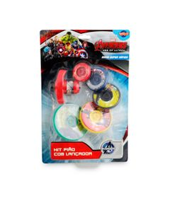 Kit-Lancador-de-Piao-Com-5-Discos---Os-Vingadores-Marvel---Toyng
