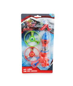 Kit-Lancador-de-Piao-Com-3-Discos---Os-Vingadores-Marvel---Toyng