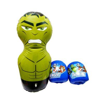 Kit-de-Boxe-Inflavel---Os-Vingadores-Marvel---Hulk---Toyng