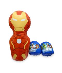 Kit-de-Boxe-Inflavel---Os-Vingadores-Marvel---Iron-Man---Toyng