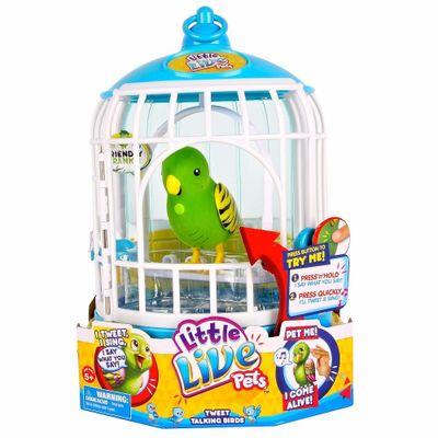 Little-Live-Pets---Passaro-Verde-e-Gaiola---DTC