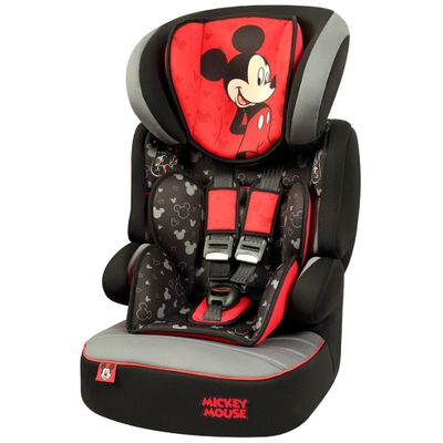 Cadeira para Auto De 09 à 36 Kg - Beline SP - Mickey Mouse - Team Tex - Disney
