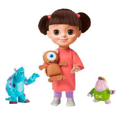 Kit-Boneca-Boo-com-Mecanismo---Monstros-SA---Bonecos-Amigos-Medonhos---Squishy-e-Sulley---Universidade-Monstros---Sunny