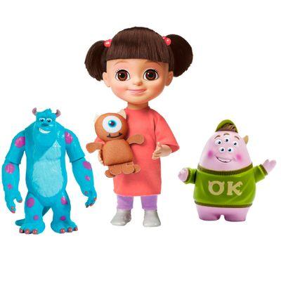 Kit-Boneca-Boo-com-Mecanismo---Monstros-SA---Bonecos-Alunos-Assustadores---Squishy-e-Sulley---Universidade-Monstros---Sunny
