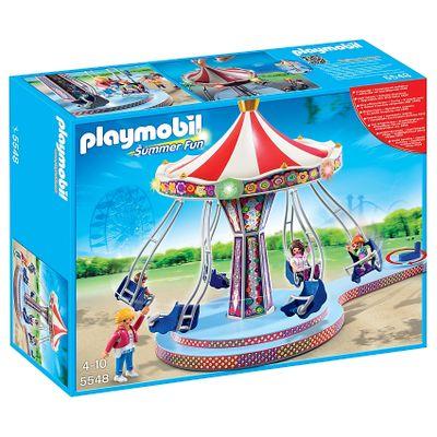 Playmobil Parque de Diversões - Balanço Voador - 5548