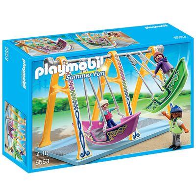 Playmobil Parque de Diversões - Barco Balanço - 5553