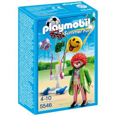 Playmobil Parque de Diversões - Palhaço com Balão - 5546