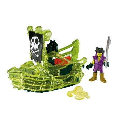 Boneco Aventura Fantasma Imaginext - Pirata e Navio - Fisher Price