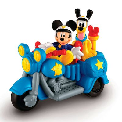 Mini Veículo - Moto Patrulha Mickey Mouse - Fisher-Price