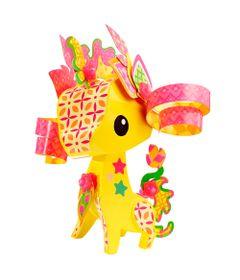 Mini-Figuras-Animais---Girafa---AmiGami---Mattel-1