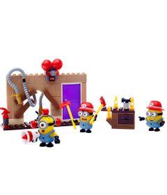 Playset-Mega-Bloks---Minions-Meu-Malvado-Favorito---Corpo-de-Bombeiros---Mattel