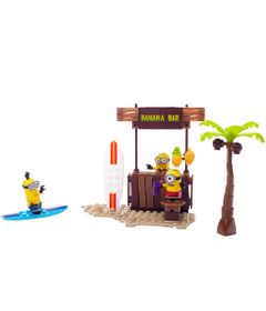 Playset-Mega-Bloks---Minions-Meu-Malvado-Favorito---Barraca-de-Praia---Mattel