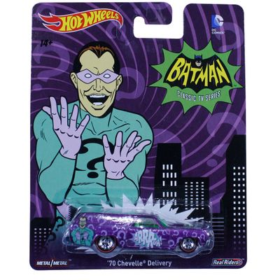Carrinho-Hot-Wheels---Cultura-Pop---Batman-Classic-Serie---70-Chevelle-Delivery---Mattel