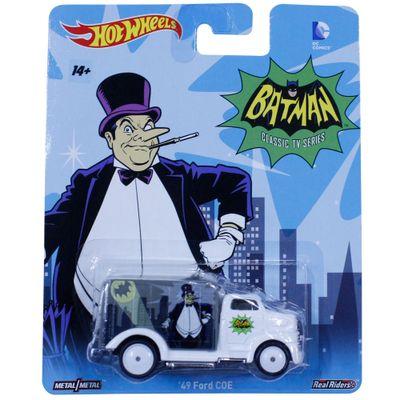 Carrinho-Hot-Wheels---Cultura-Pop---Batman-Classic-Serie---49-Ford-COE---Mattel