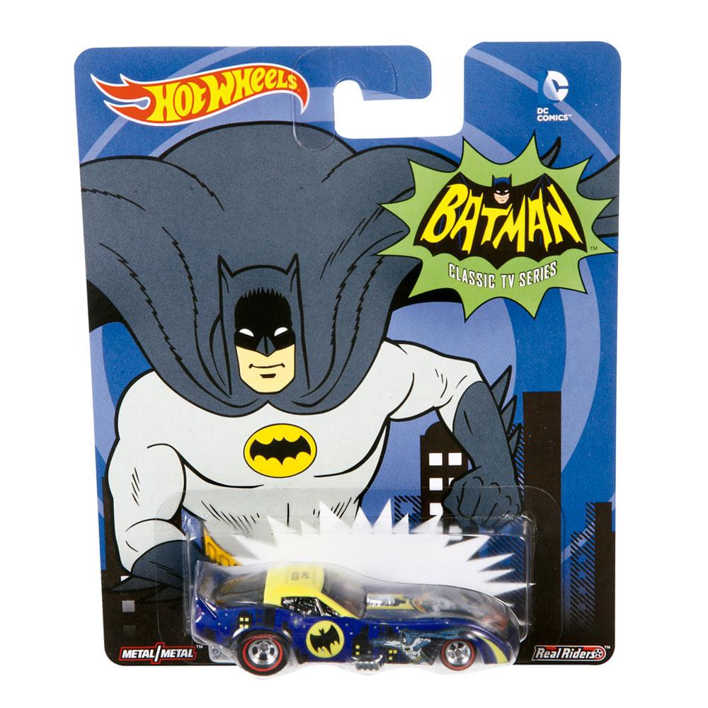 Carrinho Hot Wheels - Cultura Pop - Batman Classic Serie - 78 Corvette Funny Car - Mattel