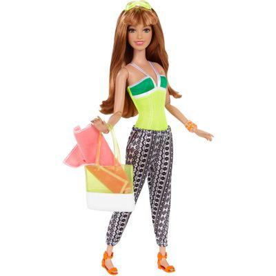 Boneca Barbie Style - Férias de Verão - Serie 2 - Mattel
