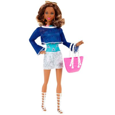 Boneca Barbie Style - Férias de Verão - Serie 3 - Mattel
