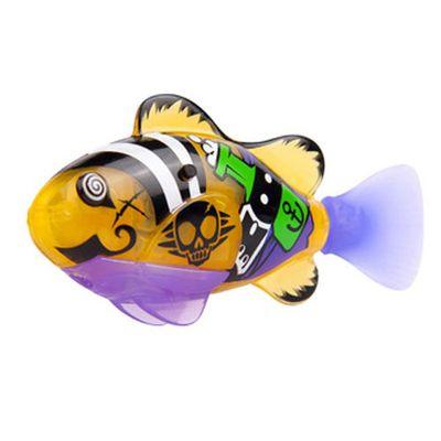 Robô Fish Série Pirata - Amarelo - DTC