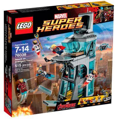 76038 - LEGO Super Heroes - Ataque na Torre dos Vingadores - LEGO - Disney