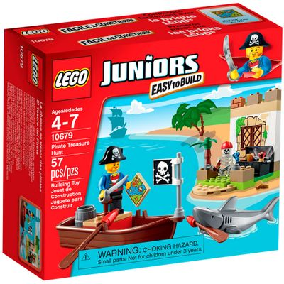 10679 - LEGO Juniors - Caça ao Tesouro Pirata - LEGO