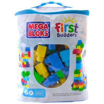 Conjunto Mega Bloks - Primeiros Construtores 60 Peças - Mattel