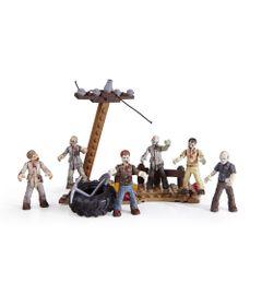 Playset-Mega-Bloks---Call-of-Duty---Ataque-Zumbi---Mattel