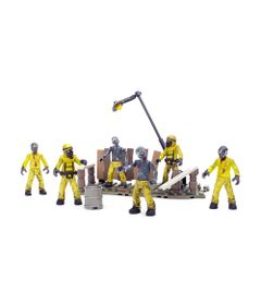 Playset-Mega-Bloks---Call-of-Duty---Hazmat-Zombies-Mob---Mattel