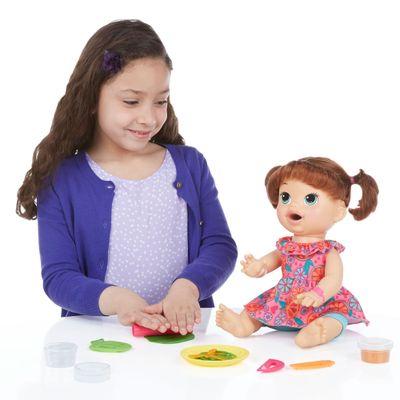 Boneca Baby Alive - Comilona - Morena - Hasbro