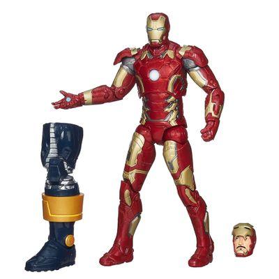 Boneco Marvel Legends Infinite Series - Build a Figure - Avengers - Iron Man Mark 43 - Hasbro