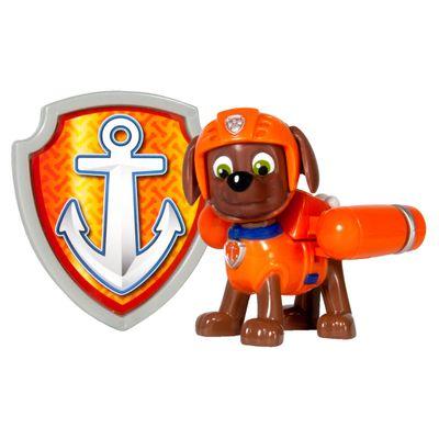 Boneco com Distintivo - Patrulha Canina - Zuma - Sunny