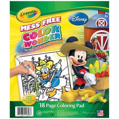 Refil de Folha para Colorir - Color Wonder - Mickey - Disney - Crayola