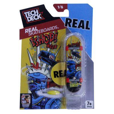Skate de Dedo Tech Deck - Real Blue - Real Series - Multikids