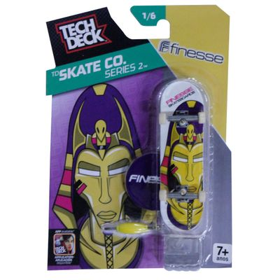 Skate de Dedo Tech Deck - Finesse - Skate CO Series - Multikids