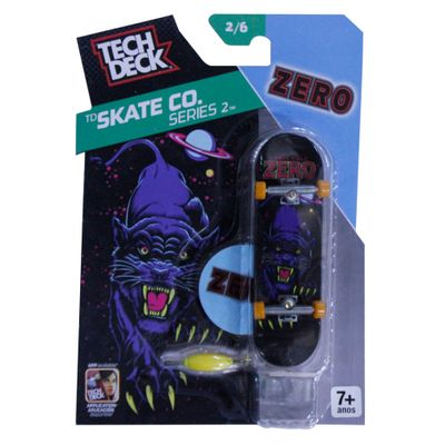 Skate de Dedo Tech Deck - ZERO - Skate CO Series - Multikids